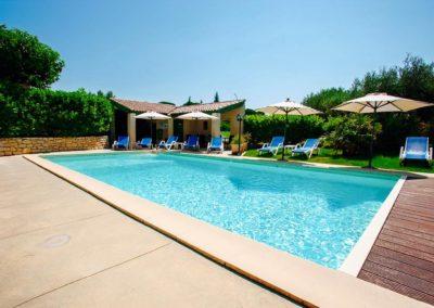 Hotel le pradet - Vue piscine